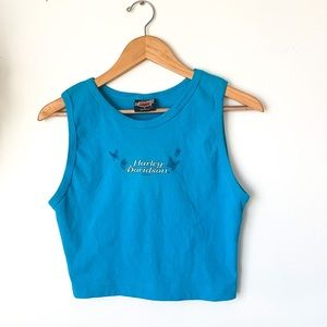 NEW Harley Davidson Butterfly Cropped Tank